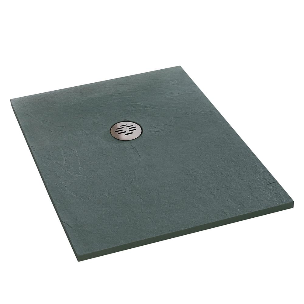 Plato de ducha carga mineral Compact rectangular Ref. 15272922 - Leroy ...