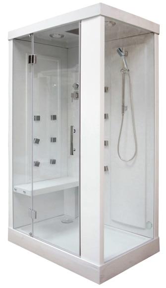 cabina de hidromasaje con sauna city sauna ref 16672901 leroy merlin. Black Bedroom Furniture Sets. Home Design Ideas