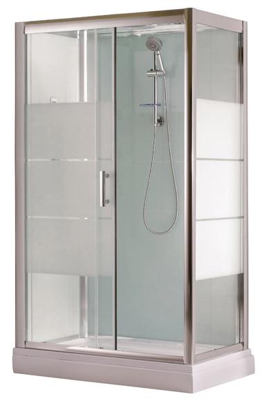 cabina de hidromasaje optima frontal ref 15450484 leroy merlin. Black Bedroom Furniture Sets. Home Design Ideas