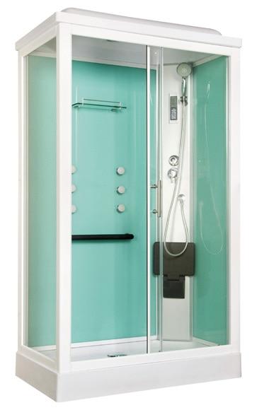 Cabina de hidromasaje quinoa sauna ref 16673265 leroy for Cabinas de ducha economicas