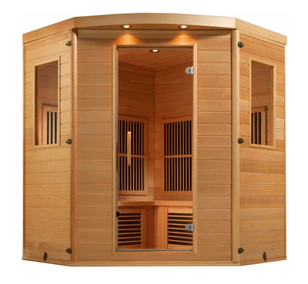 sauna de infrarrojos celta ref 15234464 leroy merlin. Black Bedroom Furniture Sets. Home Design Ideas