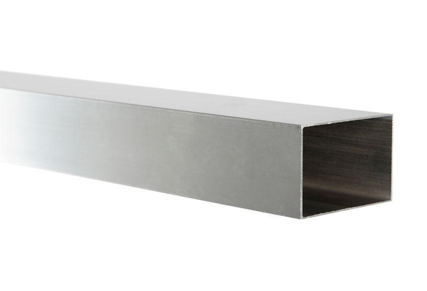 Perfil de mampara rectangular cromo ref 14972195 leroy for Perfil u aluminio leroy merlin