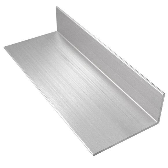 Perfil de mampara pfl angular color cromo ref 15914780 for Perfil u aluminio leroy merlin