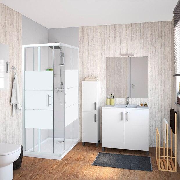 mamparas para platos rectangulares leroy merlin. Black Bedroom Furniture Sets. Home Design Ideas