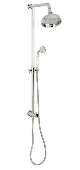 Combinado de ducha sin grifo mixi retro cromo ref - Combinados de ducha ...