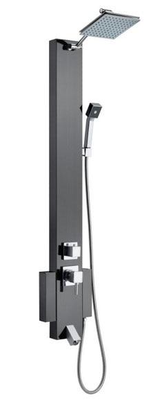 Combinado de ducha con grifo verona cromo ref 15110592 - Combinados de ducha ...