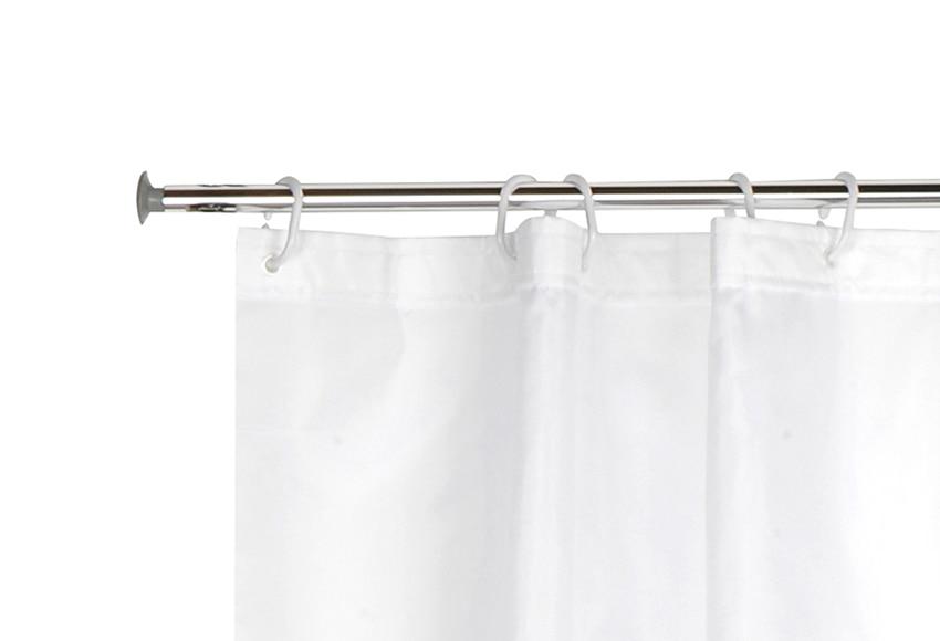 Barra de cortina de ba o sensea extensible ref 13687016 - Barras para cortinas leroy merlin ...