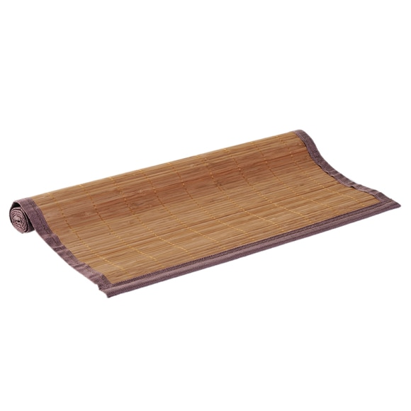 Alfombra de ba o sensea bambu natural ref 14886074 for Alfombras bano leroy merlin