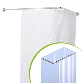 Barra para la cortina de la ducha sensea extensible - Barras cortina bano ...