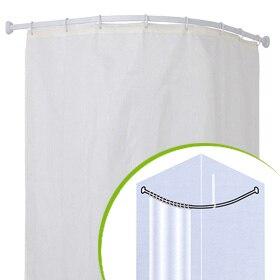 Casas cocinas mueble cortinas de ninos ikea - Cortina bano curva ...