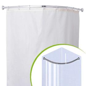 Barras para cortinas de ba o leroy merlin - Cortina bano curva ...
