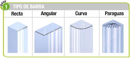 Barras para cortinas de ba o leroy merlin - Barras cortinas leroy merlin ...