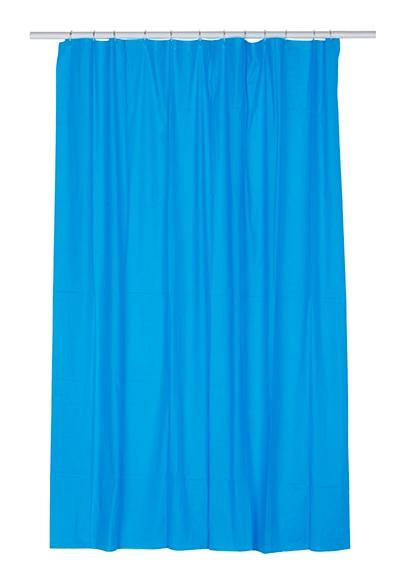 Cortinas de ba o azul - Leroy merlin cortinas bano ...