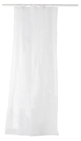 Cortina de ba o forro liner transparente ref 16619673 leroy merlin - Cortinas bano leroy merlin ...