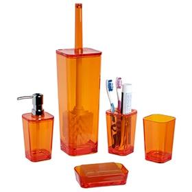 Accesorios de sobreponer leroy merlin for Accesorios bano naranja