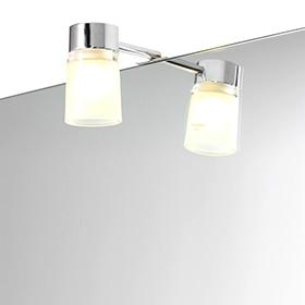 Iluminaci n para espejos de ba o leroy merlin - Lavabos de cristal leroy merlin ...