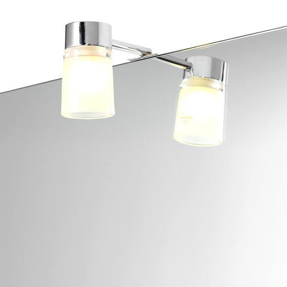Iluminacion Baño Focos:Foco de baño Andrei cromo Ref 15004934 – Leroy Merlin