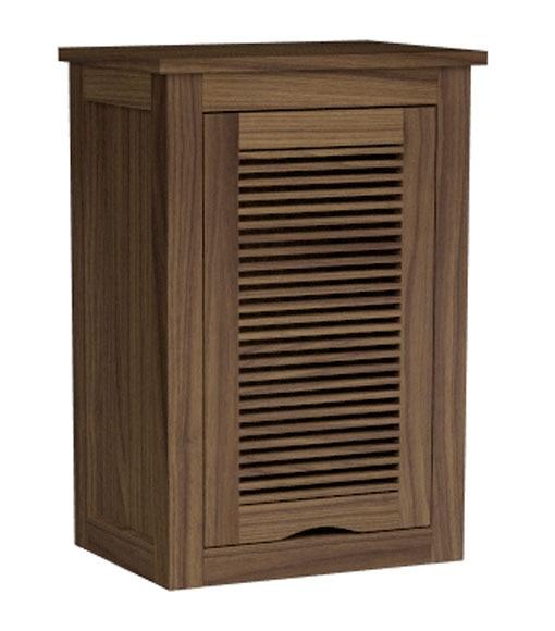 Mueble de bano auxiliar mueble alto lanzarote 35 cm madera - Muebles lanzarote ...