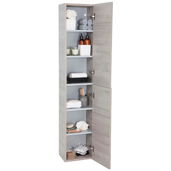 Mueble Baño Gris Arenado:Mueble auxiliar de baño SERIE ELEA COLUMNA Ref 15524481 – Leroy