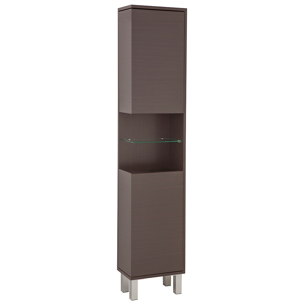 Mueble ba o columna wengue for Columna auxiliar bano