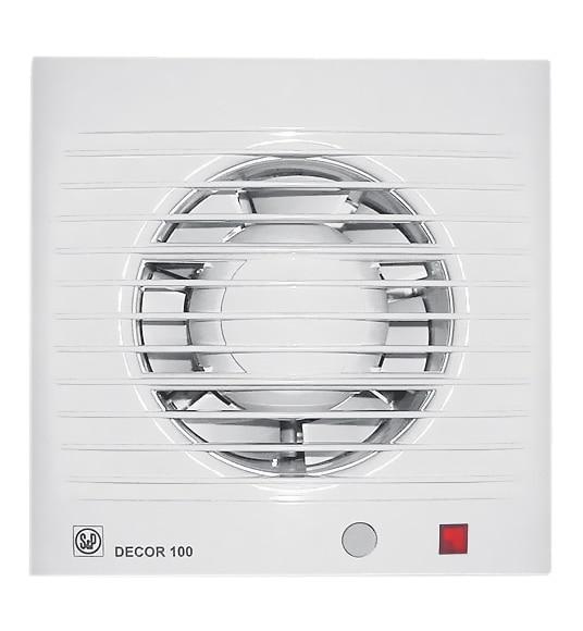 Extractor De Baño S&P:Extractor de baño S&P DECOR 100 CD
