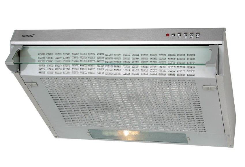Campana extractora cocina f 2260 inox ref 12296662 - Campanas de cocina leroy merlin ...