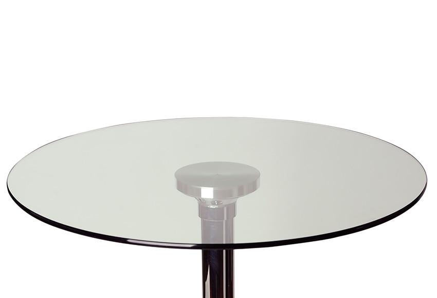 Base de mesa mesa tablero cristal negro ref 220591 - Leroy merlin cristal mesa ...