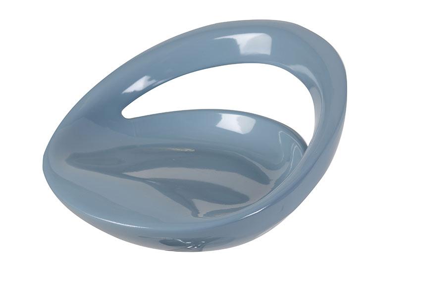 Asiento para taburete taburete abs azul ref 17620050 - Asientos para taburetes ...