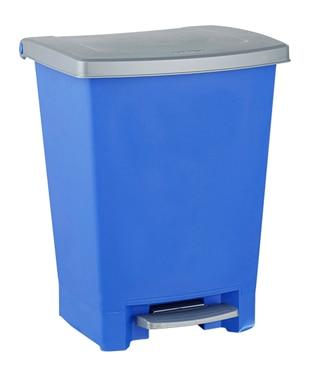 Cubo pedal 25 litros curver azul ref 14175980 leroy merlin - Cubos leroy merlin ...