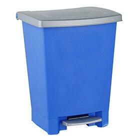 Cubos de basura reciclaje vertical good papelera - Papeleras leroy merlin ...
