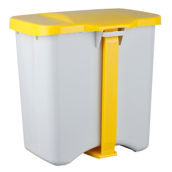 Cubo pedal 50 litros con separadores ref 16340422 leroy for Mensole cubo leroy merlin