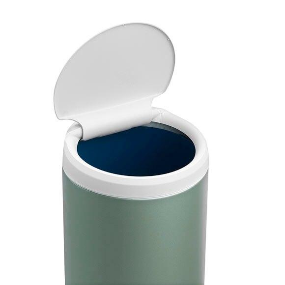 Cubo basura 30 litros brabantia flip bin verde ref for Cubo basura leroy merlin