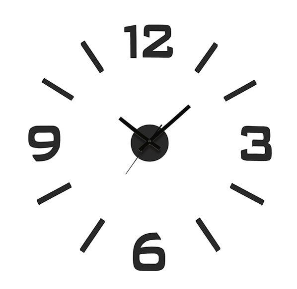 Reloj de pared quo ref 16554370 leroy merlin - Relojes de cocina modernos ...