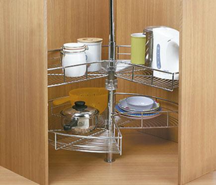 Bandeja giratoria 270 para mueble rincon ref 10790416 - Accesorios cocina leroy merlin ...