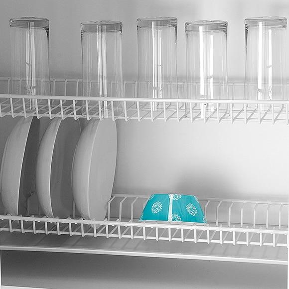 Escurreplatos vasos bandeja blanco 60 cm ref 13550026 for Muebles de cocina 60 cm