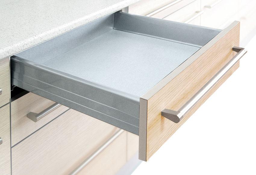 Caj n con freno 45 cm gris ref 14182091 leroy merlin for Muebles de cocina 45 cm