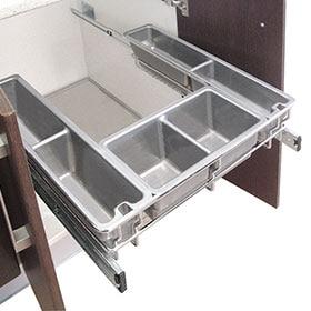 Accesorios para el mueble leroy merlin for Separadores cajones cocina leroy merlin