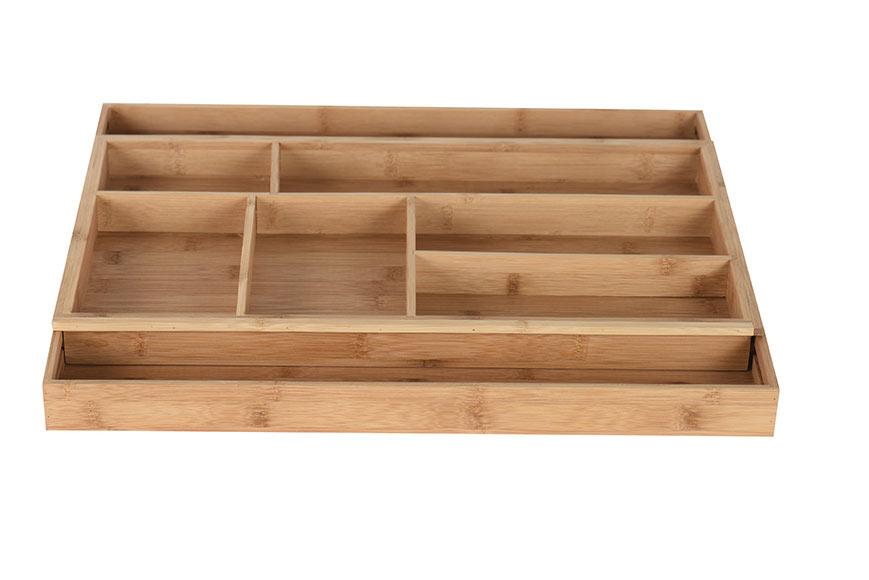 Cubertero bamb extensible 28 5 42x45 8 ref 17620491 - Accesorios cocina leroy merlin ...