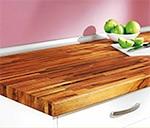 encimeras laminadas y de madera maciza