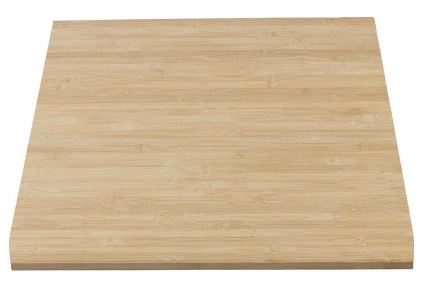 encimera de madera bamboo maciza