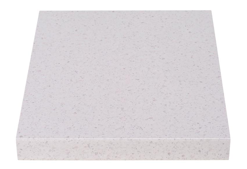 Encimera laminada blanco granito ref 17544793 leroy merlin - Embellecedor encimera leroy merlin ...