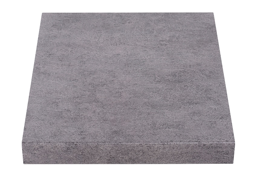 Encimera laminada cemento oscuro ref 17544842 leroy merlin - Embellecedor encimera leroy merlin ...