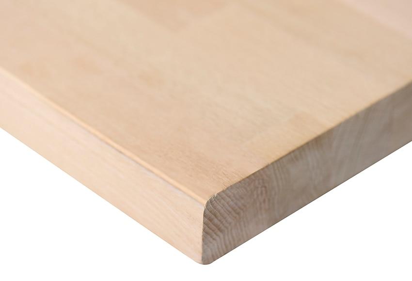 encimera de madera haya maciza ampliar imagen