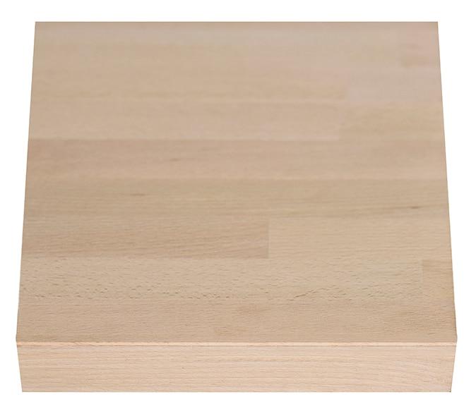Encimera de madera haya maciza ref 18894064 leroy merlin - Encimera madera maciza ...