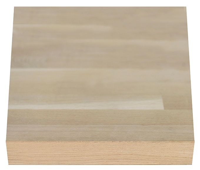 Encimera de madera roble maciza ref 18894071 leroy merlin - Encimeras de madera maciza ...