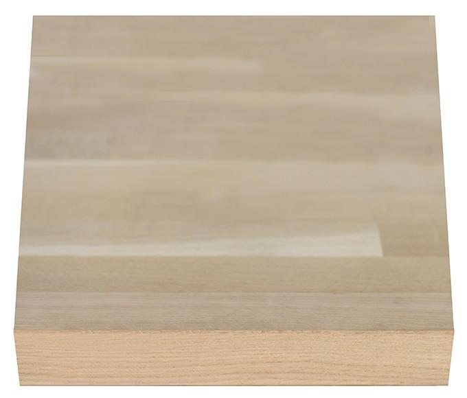 Encimera de madera roble maciza ref 18894092 leroy merlin - Encimeras de madera maciza ...