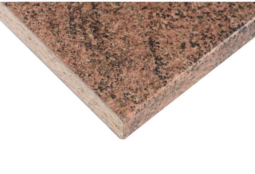 Encimera laminada salm n granito brillo pp 5564 ref for Encimeras granito leroy merlin