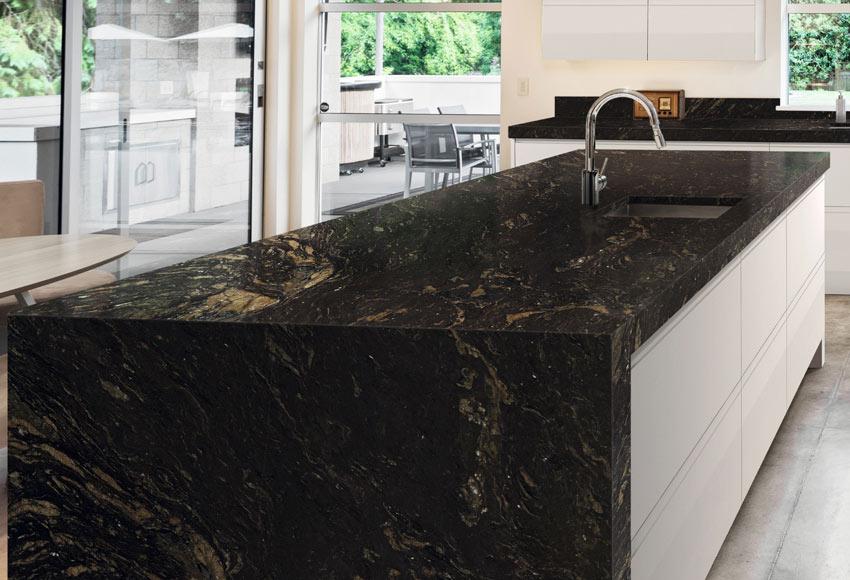 Precio encimera de granito good granitos silestone for Precio encimera marmol