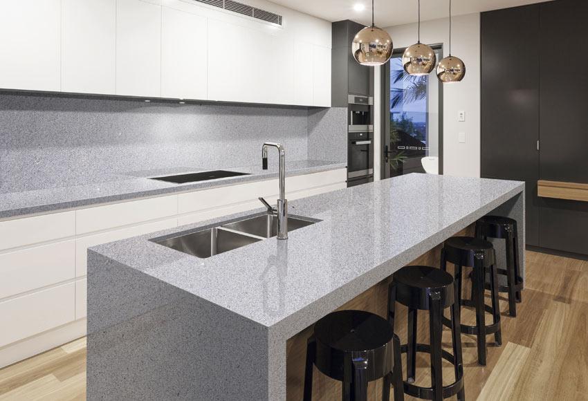 Encimera granito blanco encimeras de cocina granito for Encimeras de granito blanco
