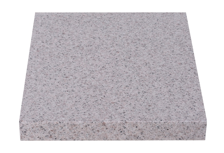 Encimera blanco granito gris oscuro ref 17544835 leroy for Encimera de granito gris